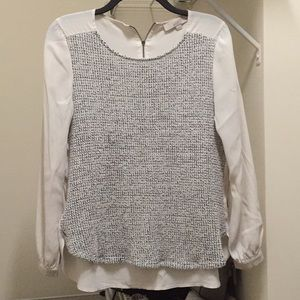 Loft sweater blouse